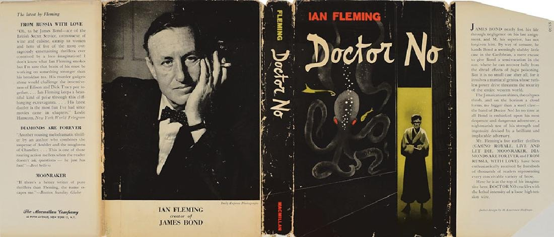 Ian Fleming 'Doctor No' First American Edition Book - 4