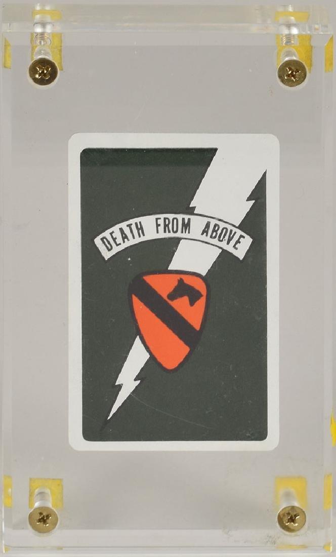Apocalypse Now Air Cavalry Death Card Prop