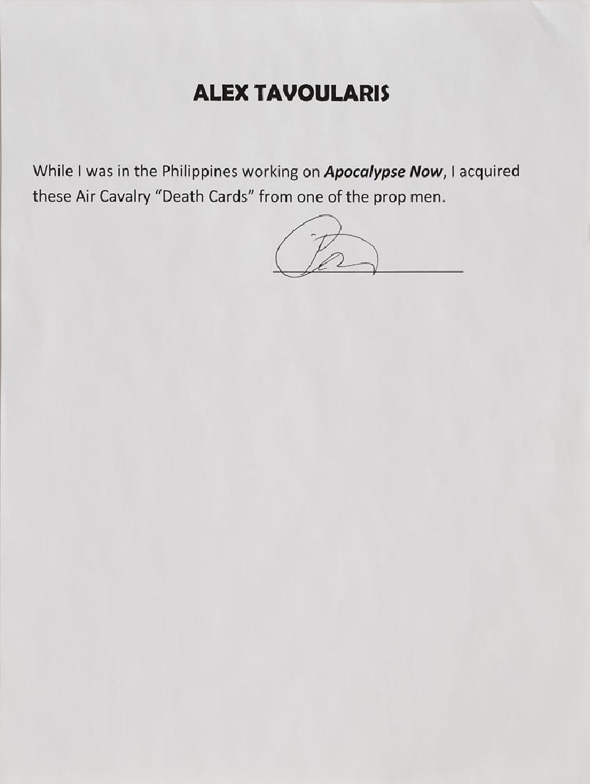 Apocalypse Now Air Cavalry Death Card Prop - 3