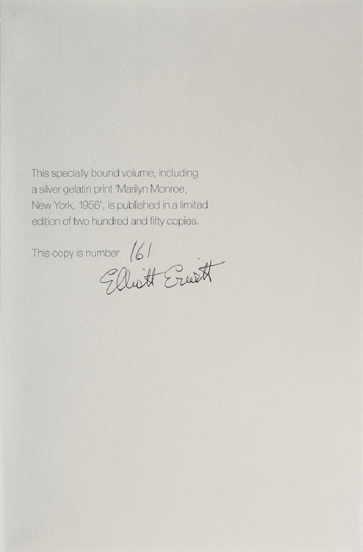 Elliott Erwitt Signed Marilyn Monroe Book