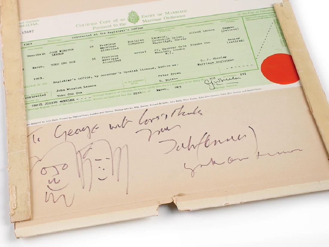 John Lennon and Yoko Ono Signed Album - 3