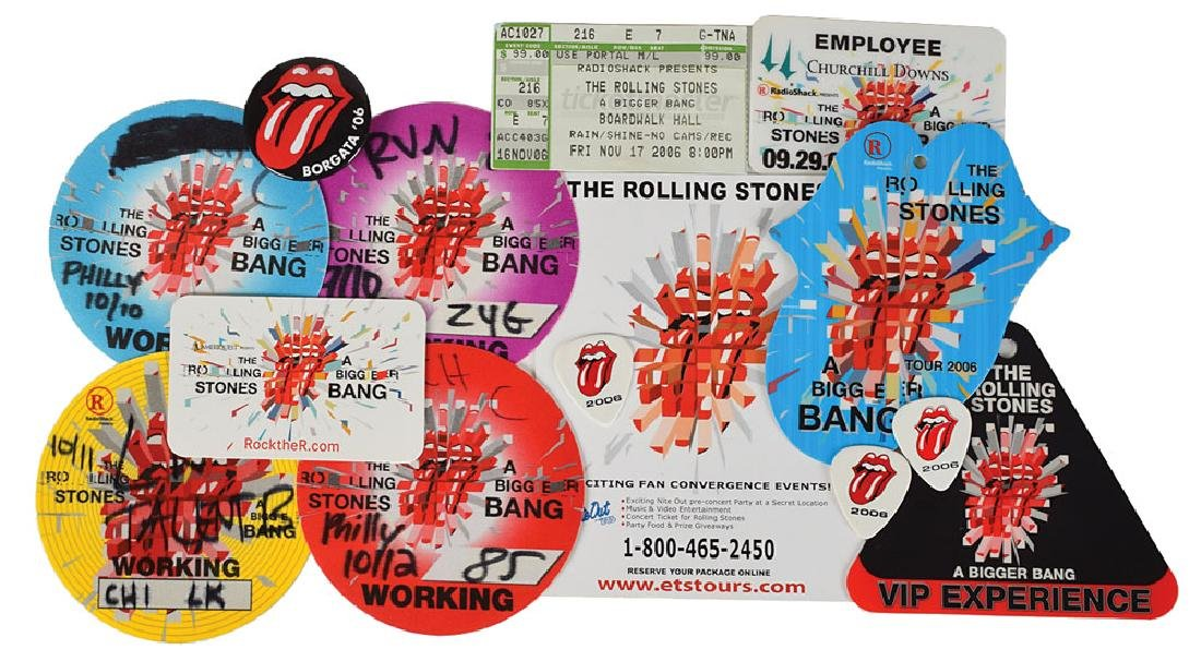 Rolling Stones Group Lot of (3) Signed Items - 5