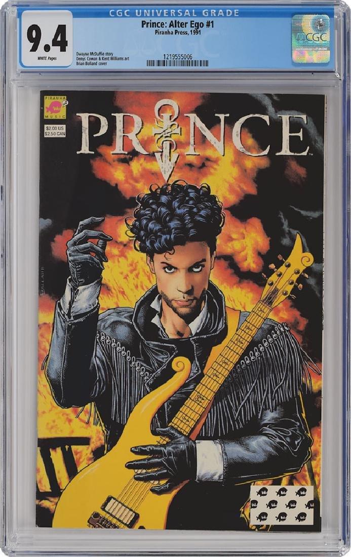 Prince Group of (3) Comic Books