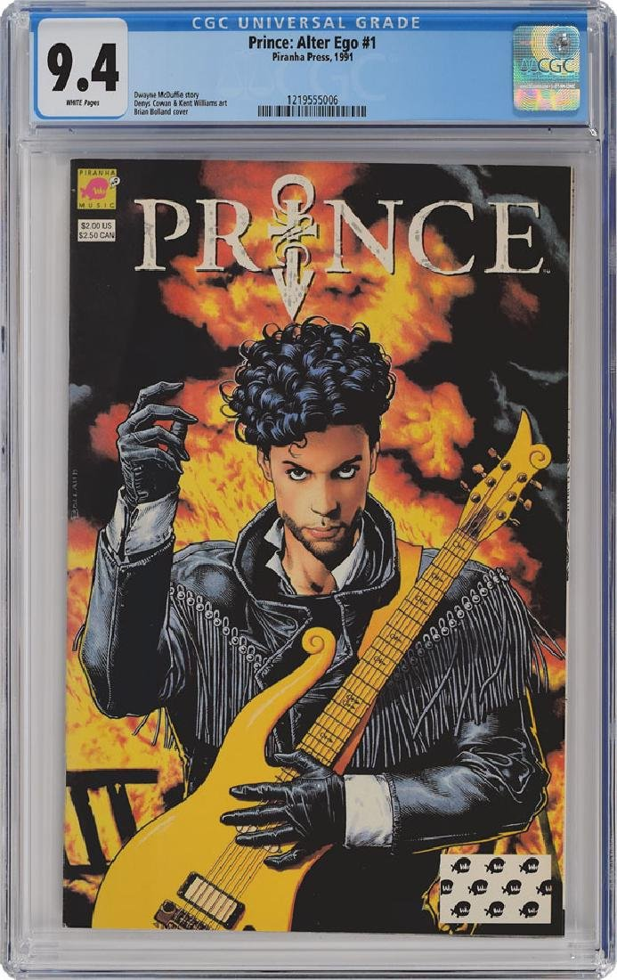 Prince Group of (3) Comic Books