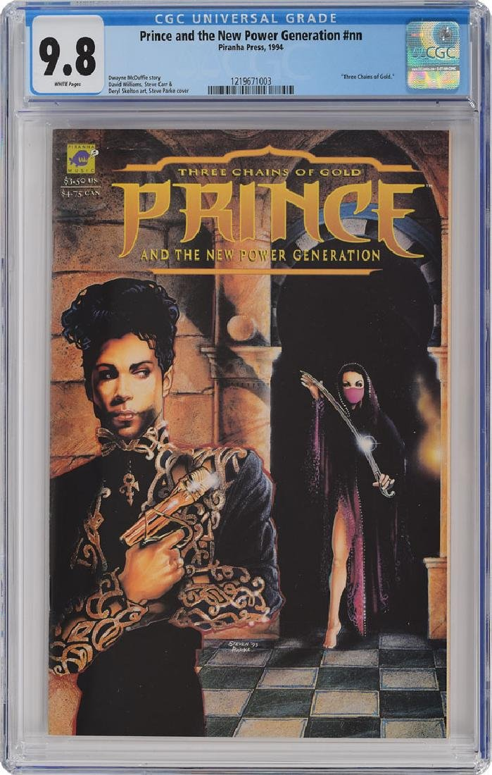 Prince Group of (3) Comic Books - 3