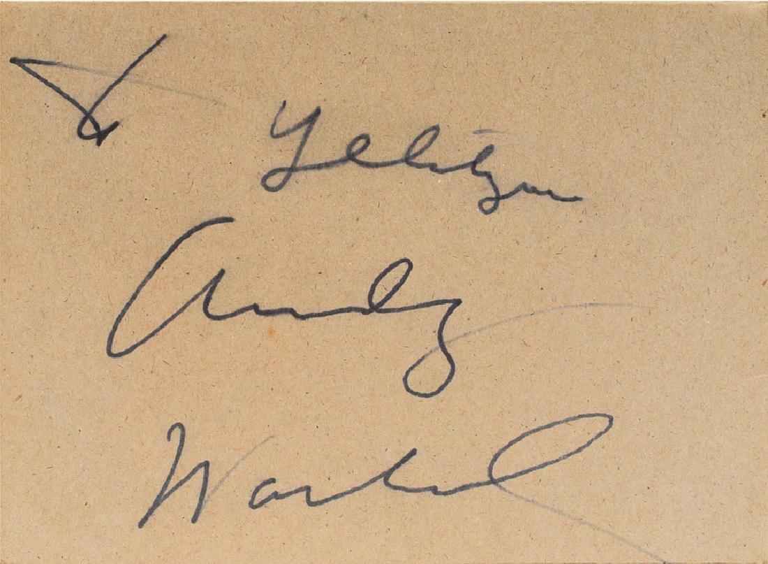 Andy Warhol Signed Original 'Cow' Screenprint on Kellogg's Cereal Box - 3