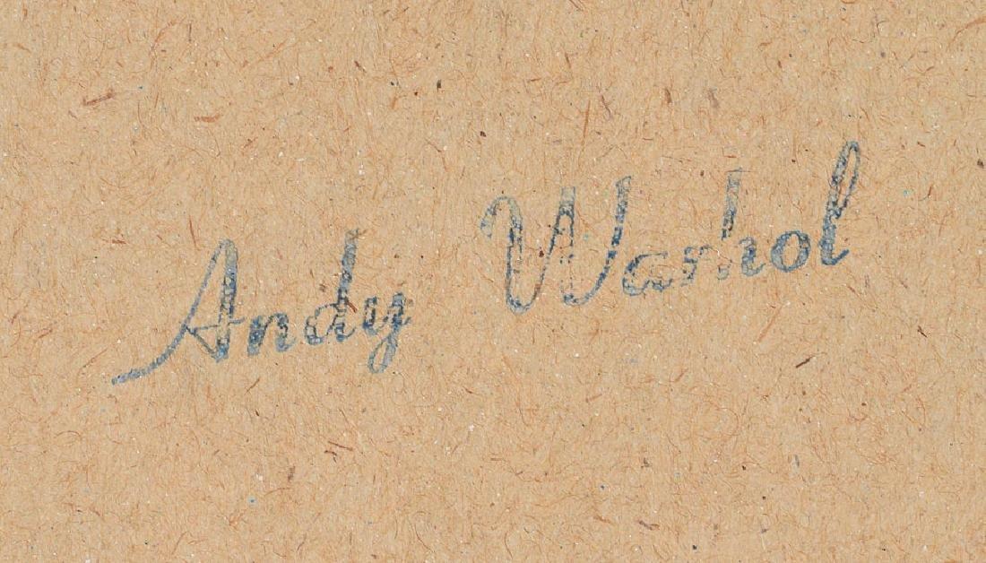 Andy Warhol Signed Original 'Cow' Screenprint on Kellogg's Cereal Box - 4