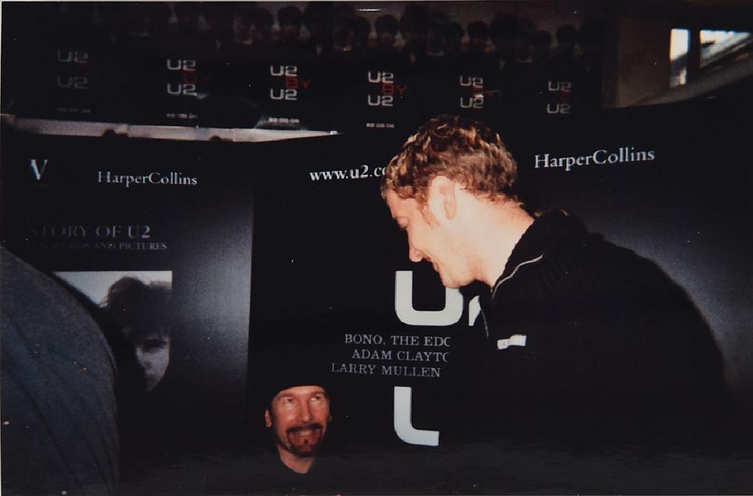 U2 Signed Book - 3