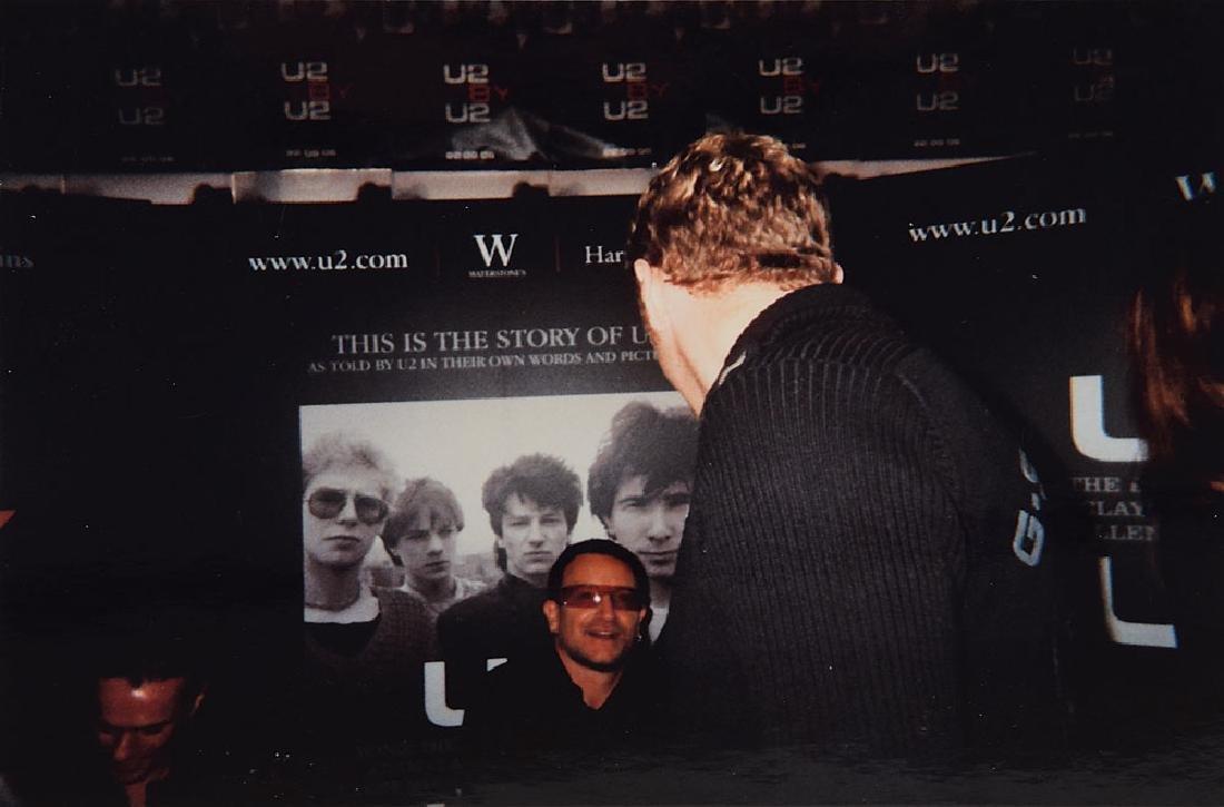 U2 Signed Book - 4
