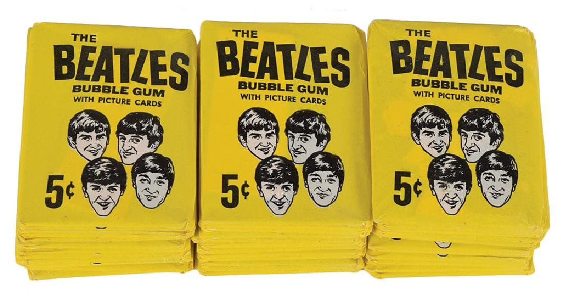 Beatles 1964 O-Pee-Chee 'New Series' Trading Cards - 4