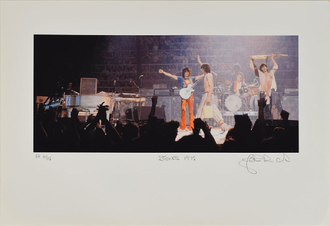 Rolling Stones Set of (5) Lithos Signed by John Rowlands - 2