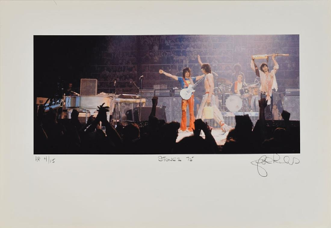 Rolling Stones Set of (5) Lithos Signed by John Rowlands - 3