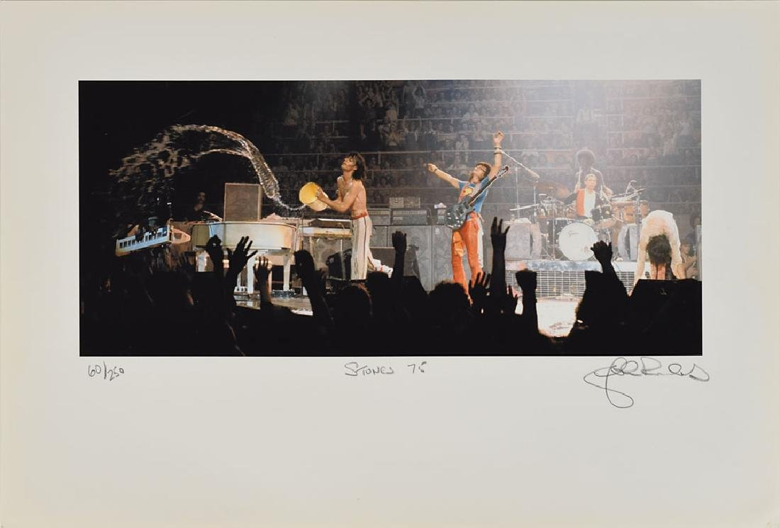 Rolling Stones Set of (5) Lithos Signed by John Rowlands - 4