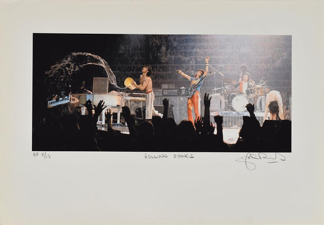 Rolling Stones Set of (5) Lithos Signed by John Rowlands - 5