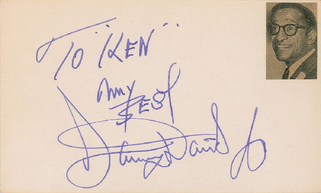 Rat Pack Signatures - 2