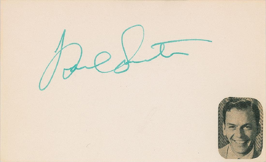 Rat Pack Signatures - 3