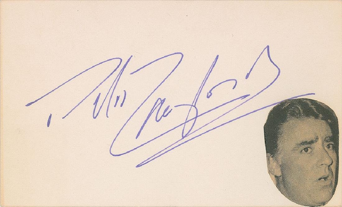 Rat Pack Signatures - 4