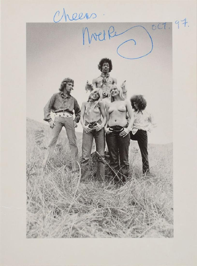 Jimi Hendrix Experience and Band of Gypsys Signatures - 3