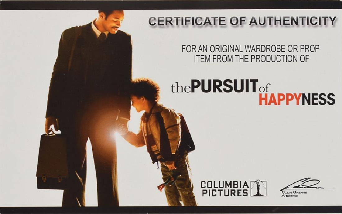 Will Smith Screen-Worn Dress Shirt from The Pursuit of Happiness - 5