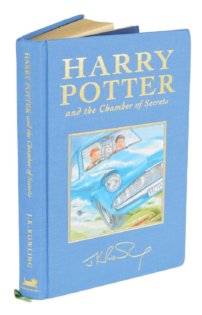 J. K. Rowling Signed Complete 'Harry Potter' Deluxe Book Set - 3