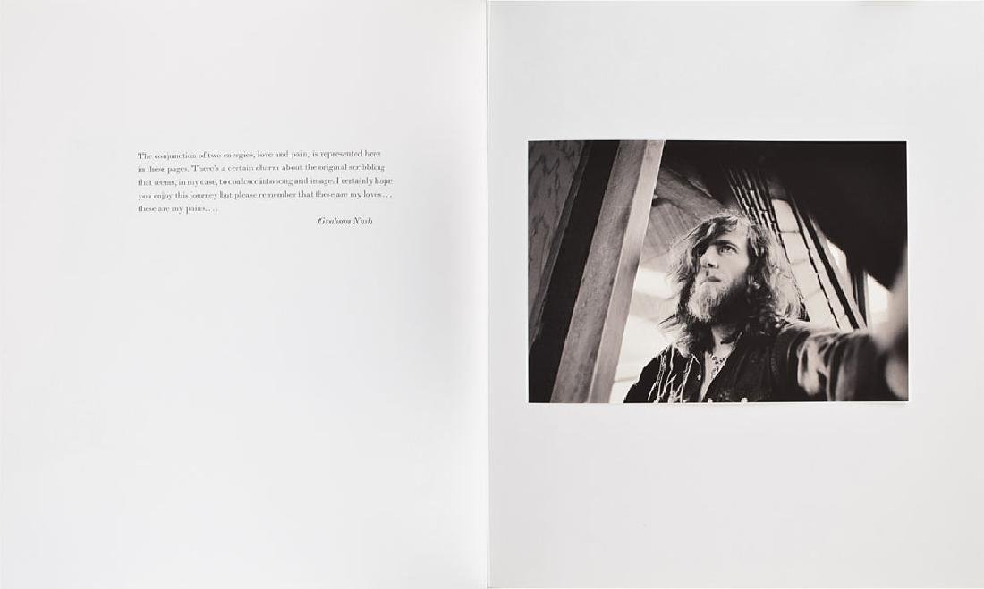 Crosby, Stills, Nash, and Young Signed Limited Edition Photography Book - 2