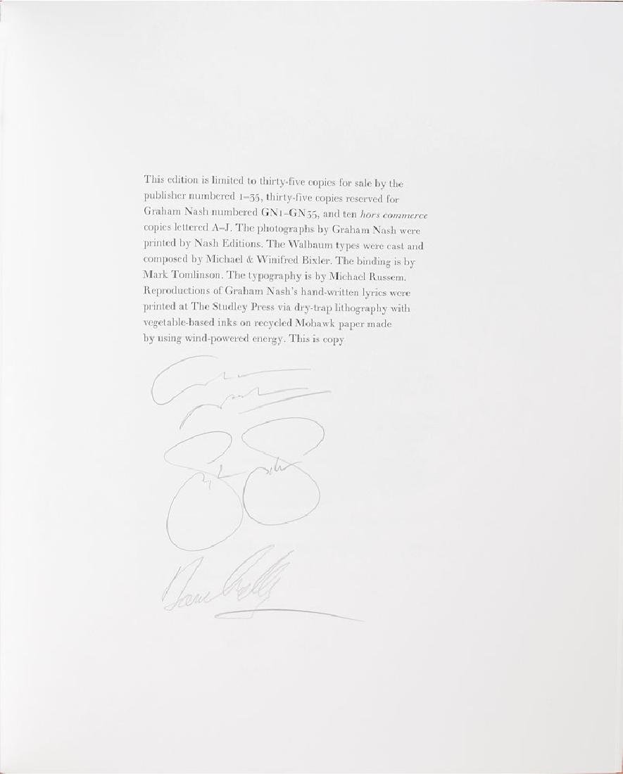 Crosby, Stills, Nash, and Young Signed Limited Edition Photography Book - 4