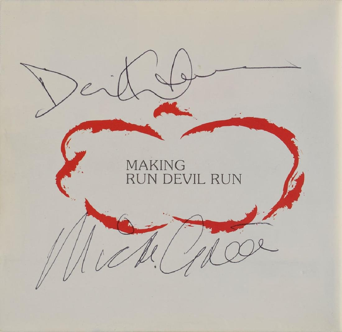 Paul McCartney and David Gilmour Signed Press Pack - 2