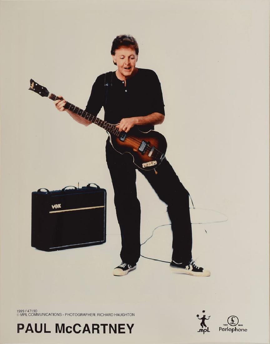 Paul McCartney and David Gilmour Signed Press Pack - 7