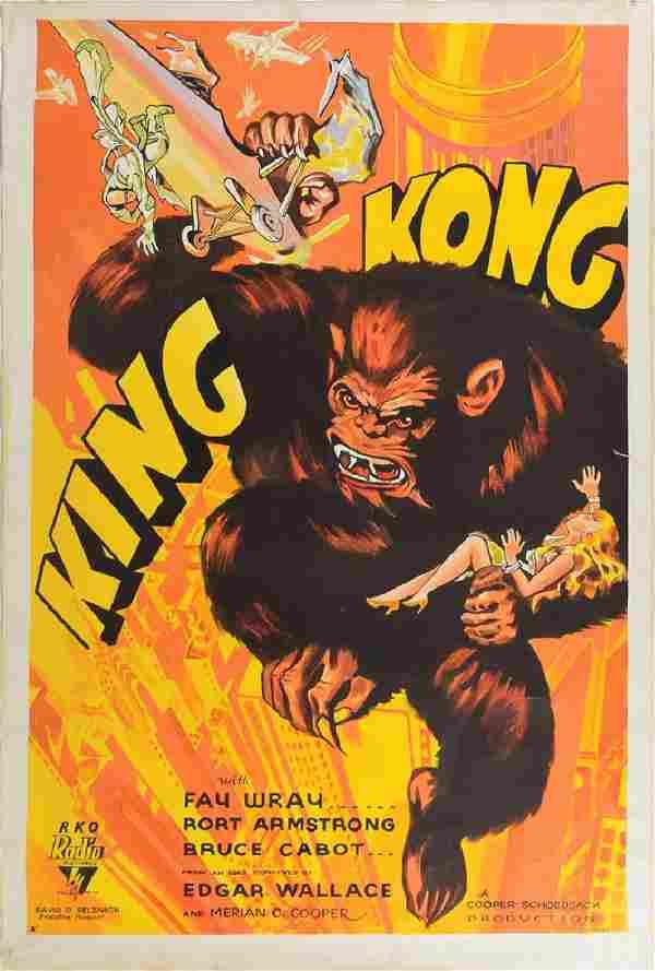 King Kong Original Artwork