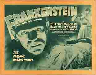 Frankenstein 1947 Half-Sheet Poster