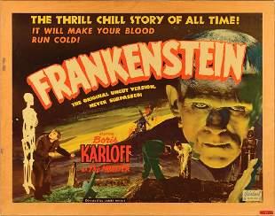 Frankenstein 1951 Half-Sheet Poster