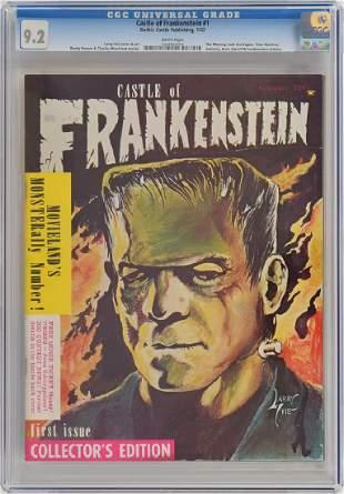 Castle of Frankenstein Magazine