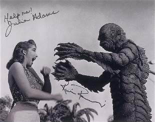 Creature From the Black Lagoon Group of (5) Signed
