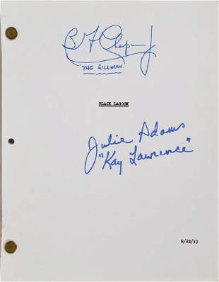 Creature from the Black Lagoon Signed Script