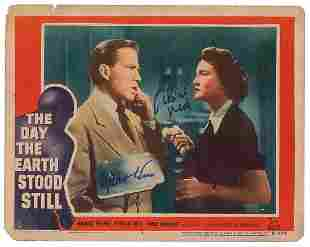 The Day the Earth Stood Still Signed Lobby Card