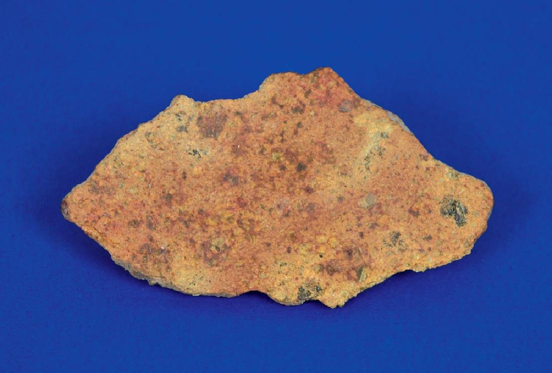 Northwest Africa Stone Diogenite Meteorite Slice