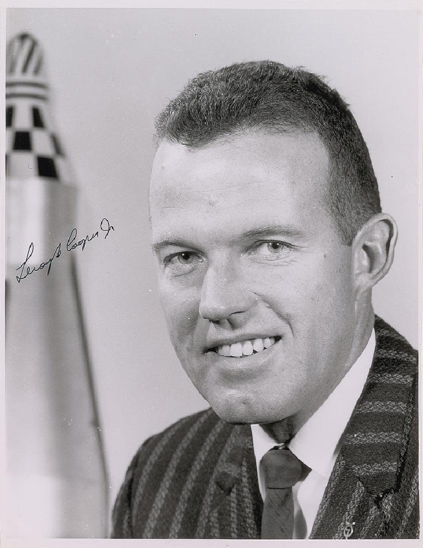 Gordon Cooper 1961 Signed Letter and Photograph
