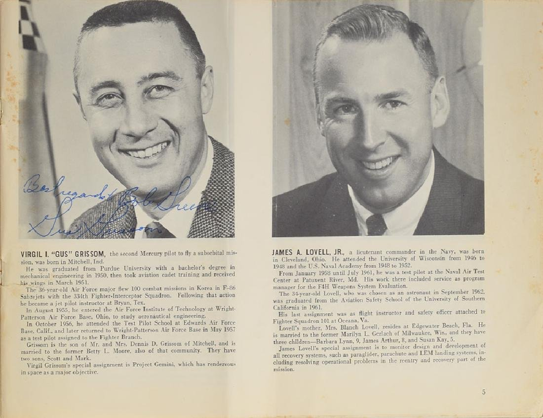 Gus Grissom and John Young