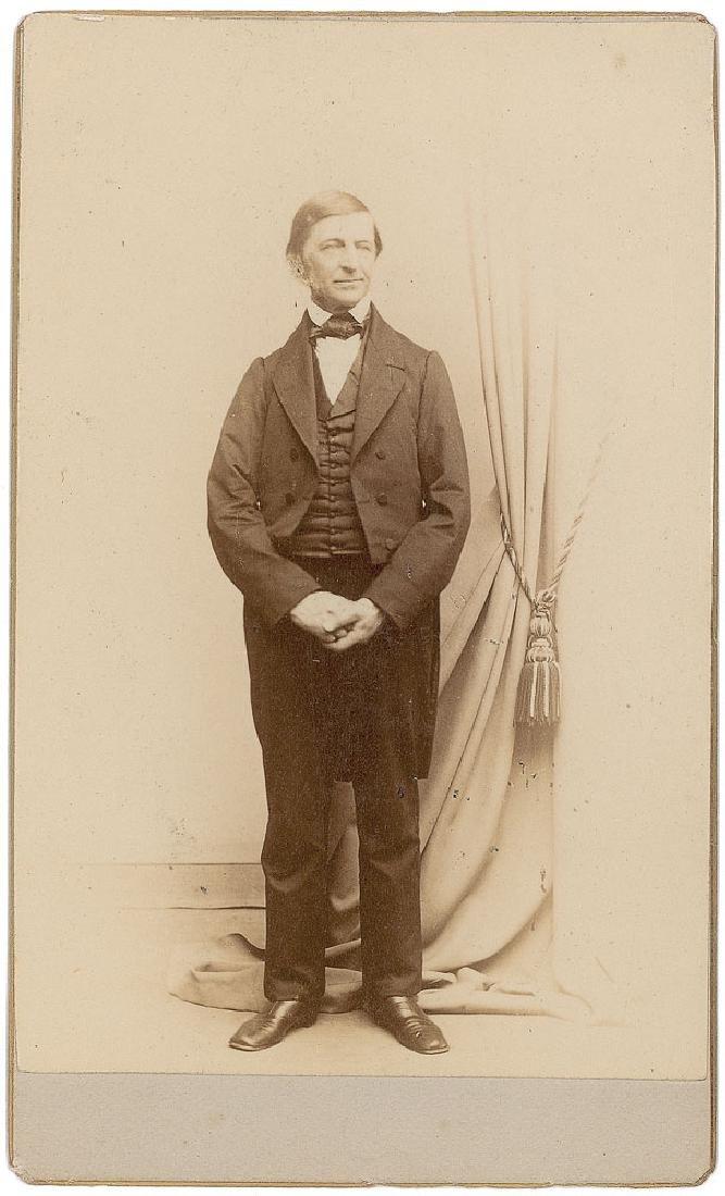 Nathaniel Hawthorne and Ralph Waldo Emerson