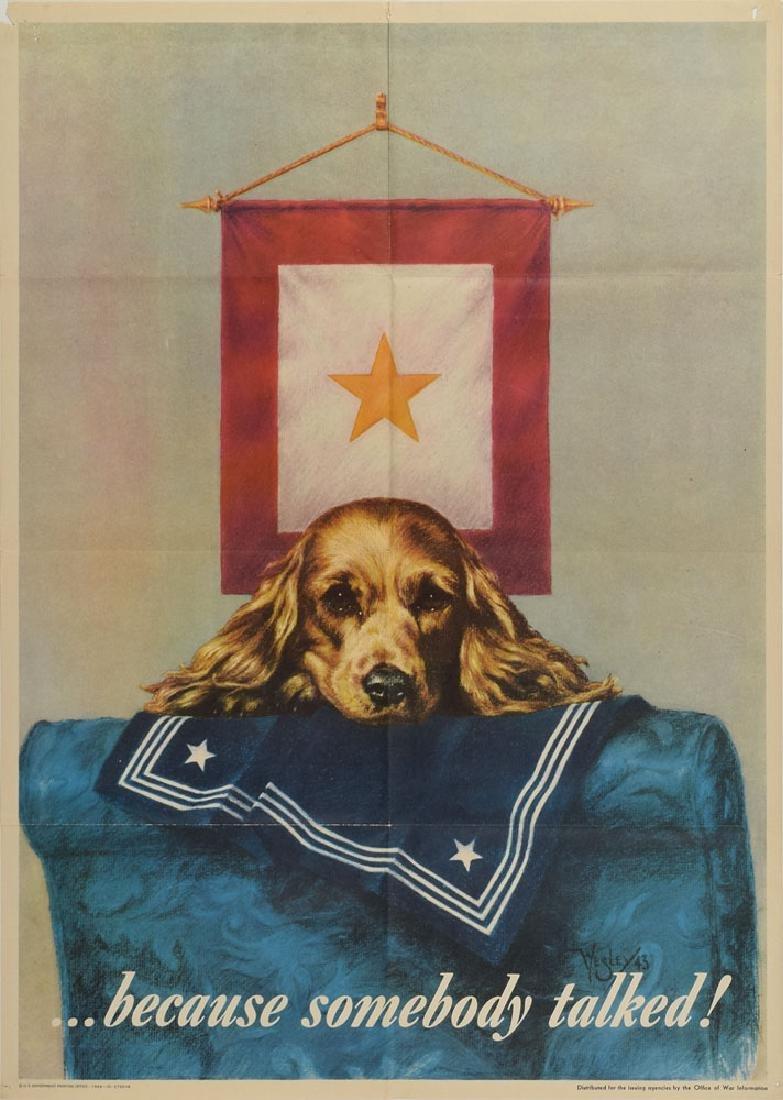 World War II Posters: Careless Talk