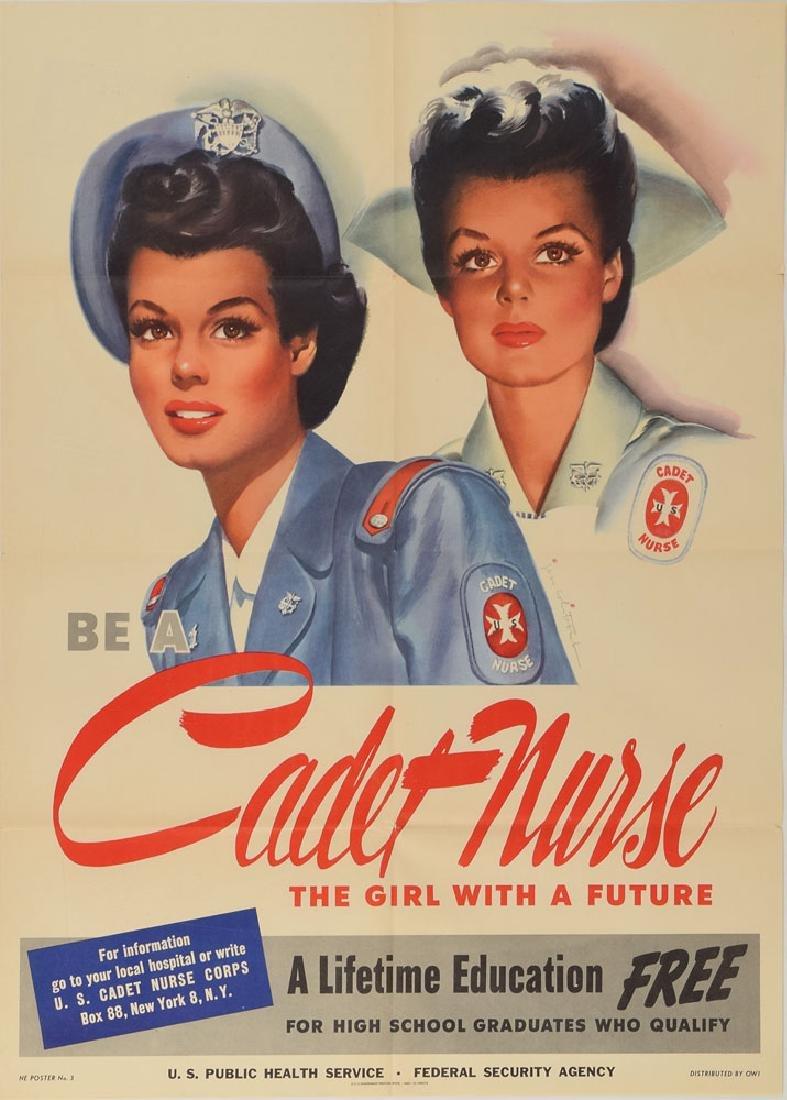 World War II Posters: Nurse Recruitment