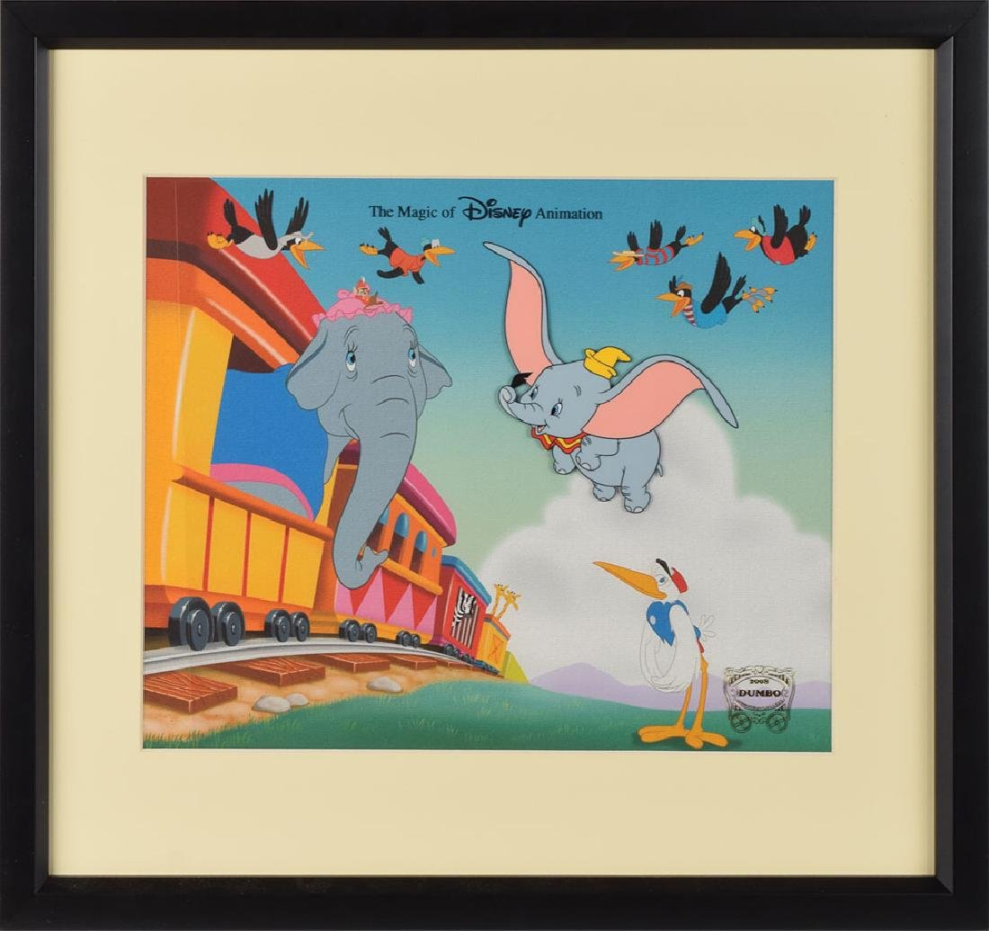 Dumbo limited edition cel from Disney World