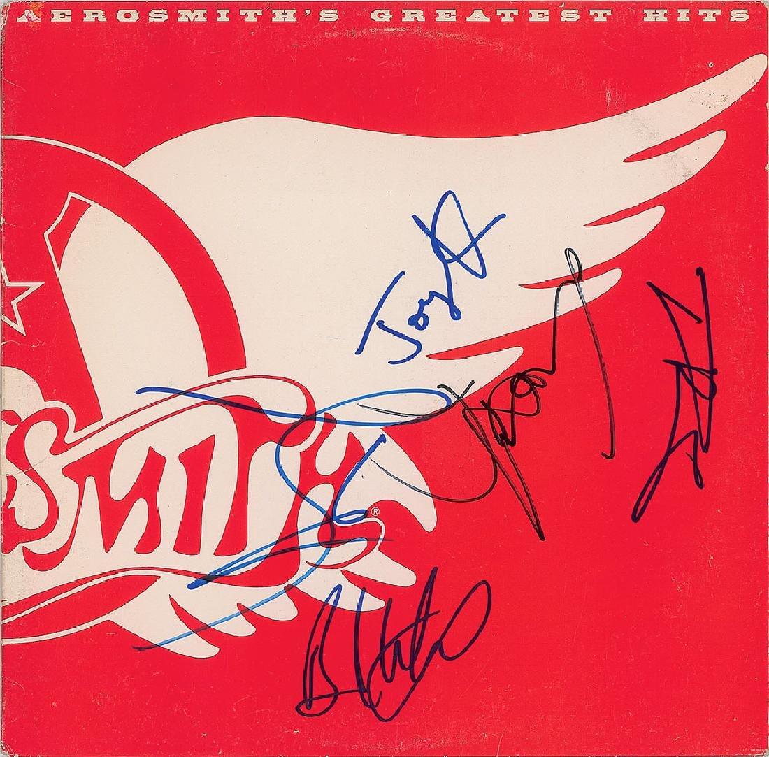 Aerosmith Signed Album