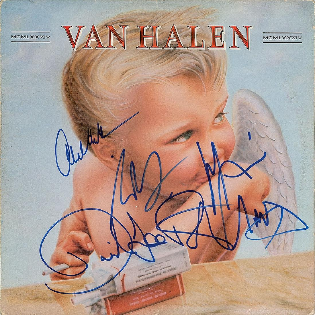 Van Halen Signed Album