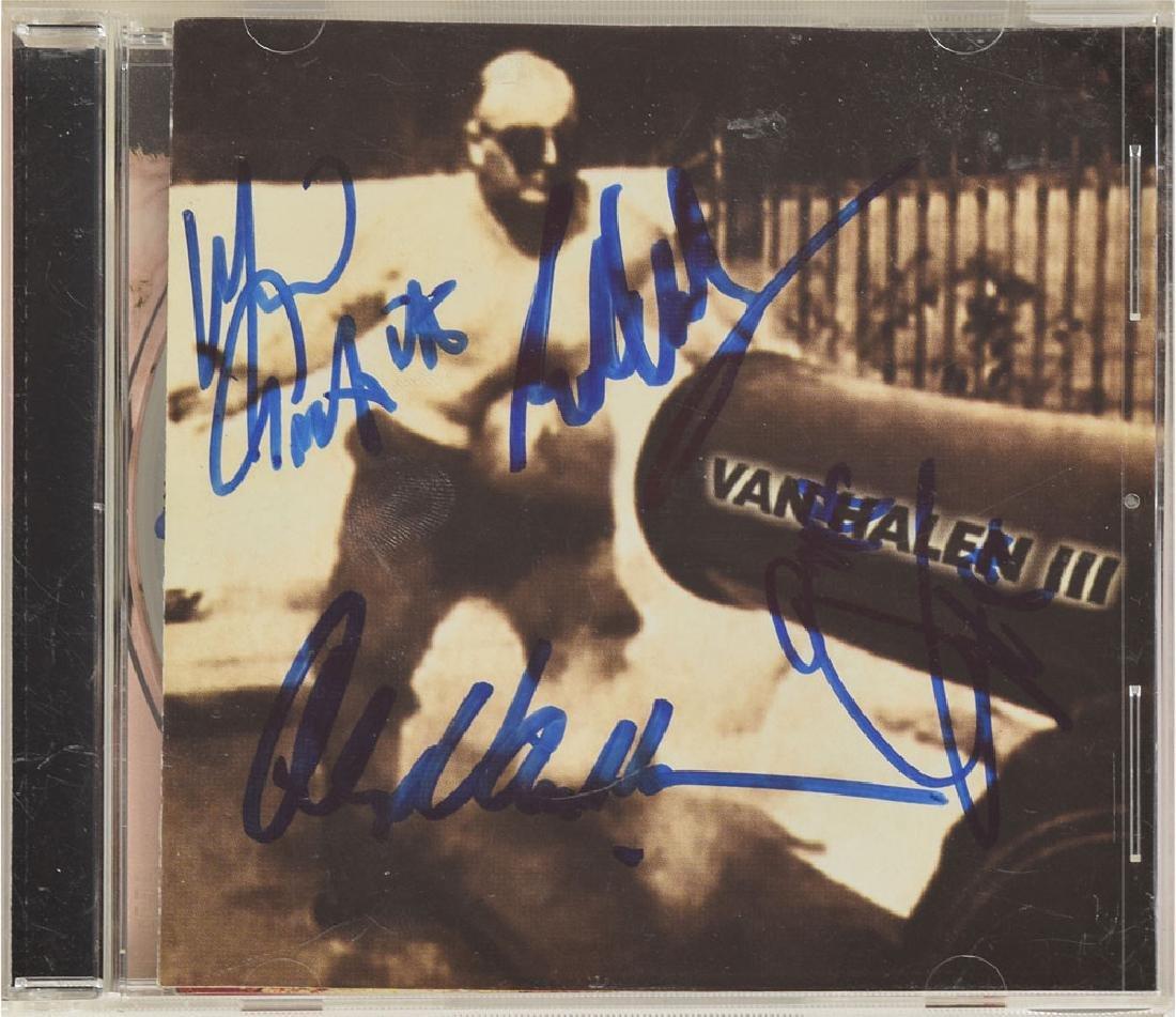 Van Halen Signed CD
