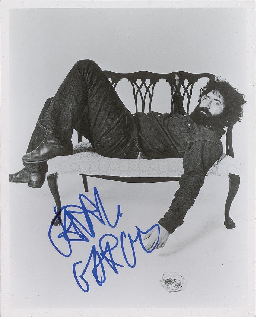 Grateful Dead: Jerry Garcia Signed Photograph