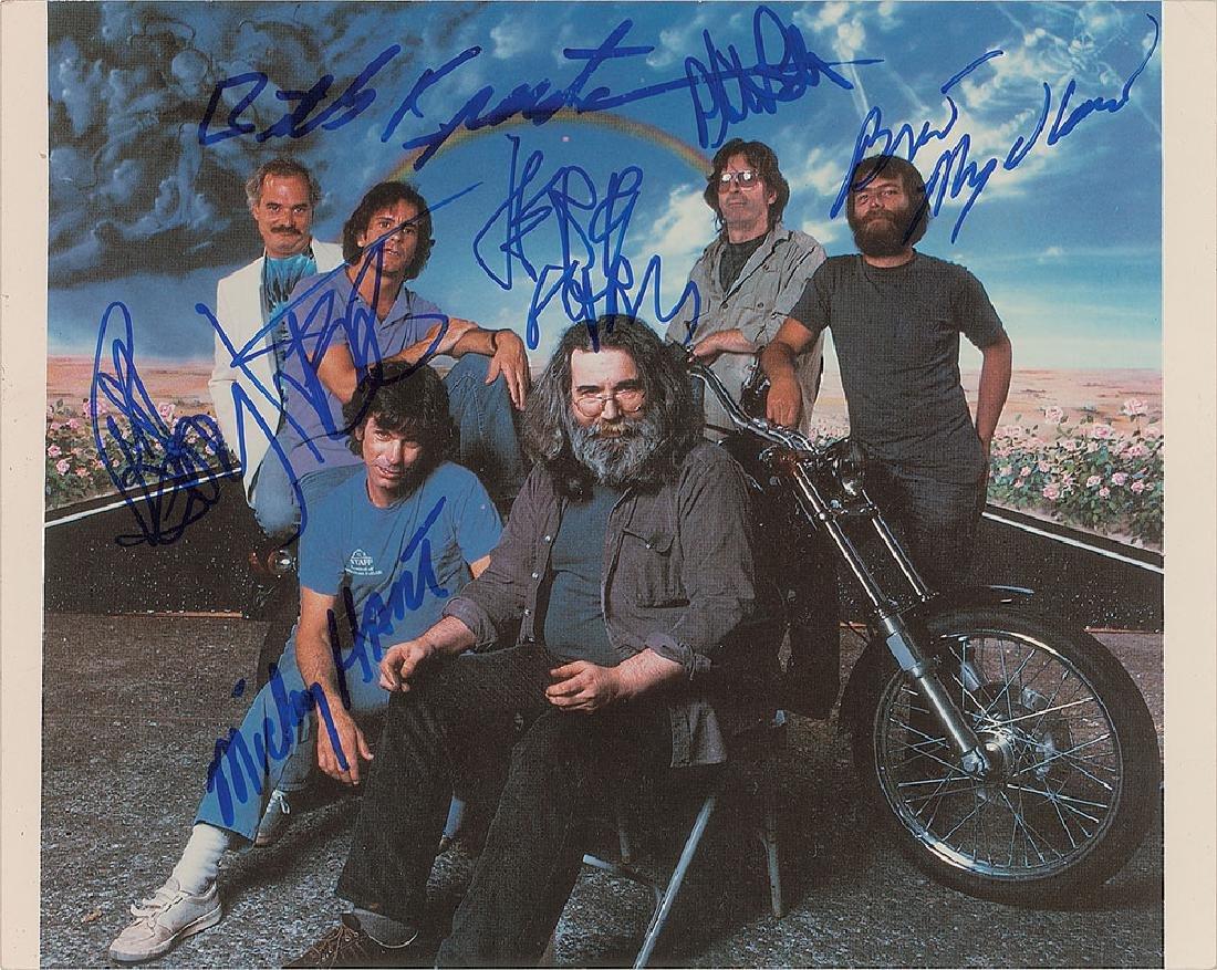 Grateful Dead Signed Photograph