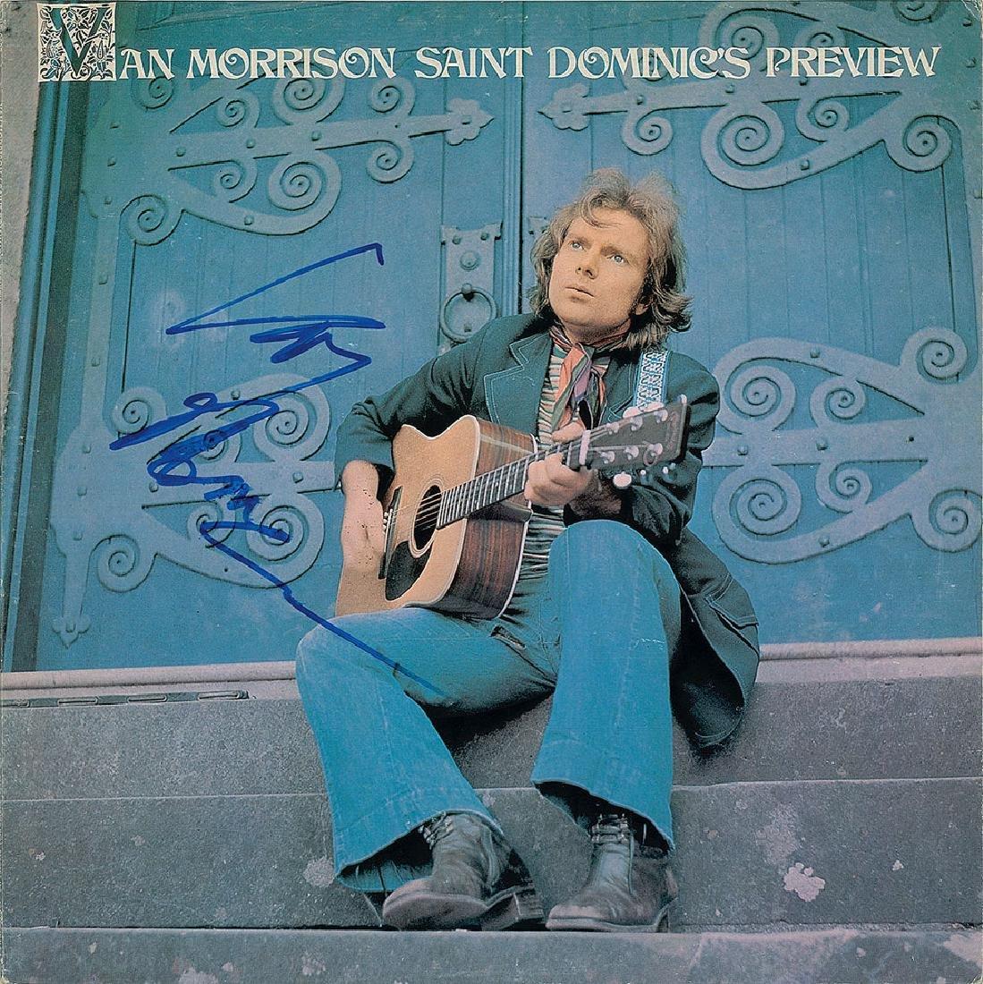 Van Morrison Signed Album