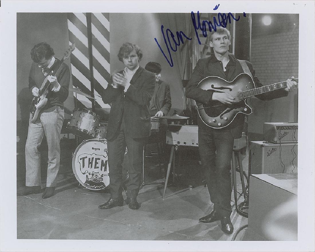 Van Morrison Signed Photograph