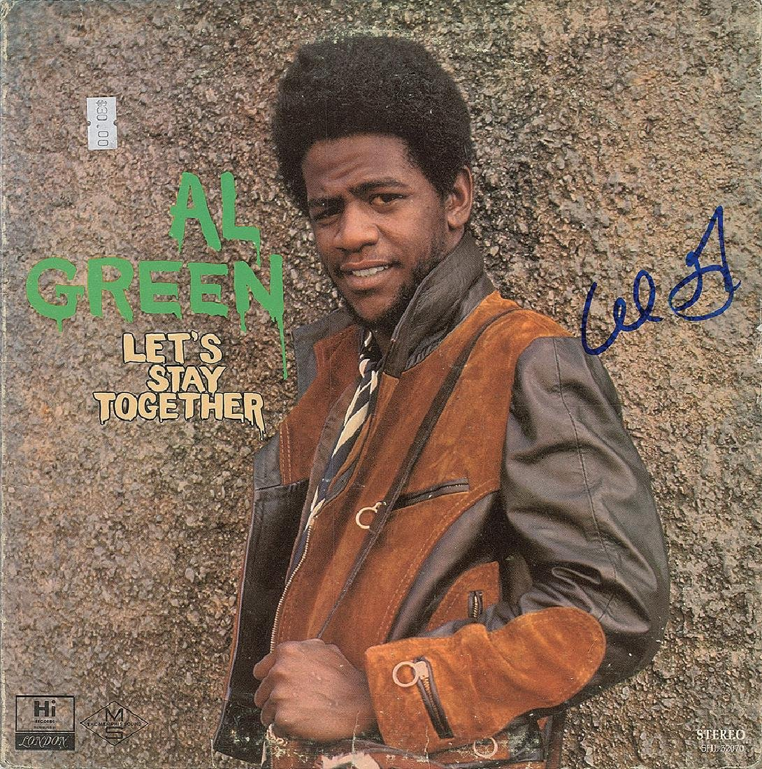 Al Green Signed Album